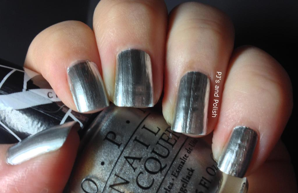 Swatch Review OPI Push and Shove Lay Down that Base