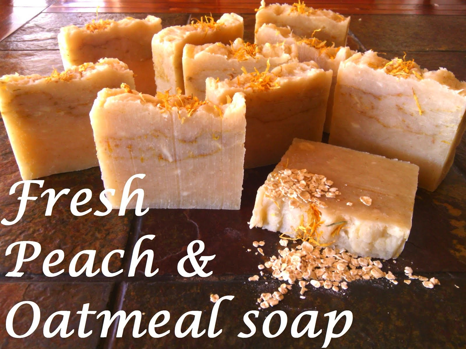 Homemade Shea Butter enriched soap