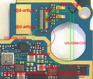Samsung I9500 Galaxy S4 Advance Camera Problem solution diagram