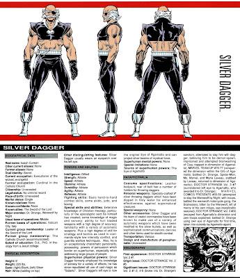 Daga de Plata (ficha marvel comics)