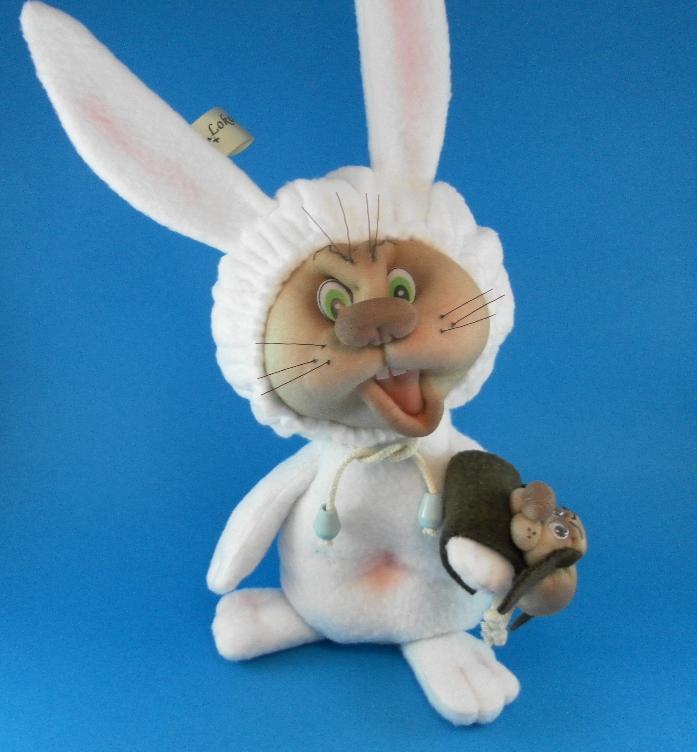Кролик своими руками мастер класс 50