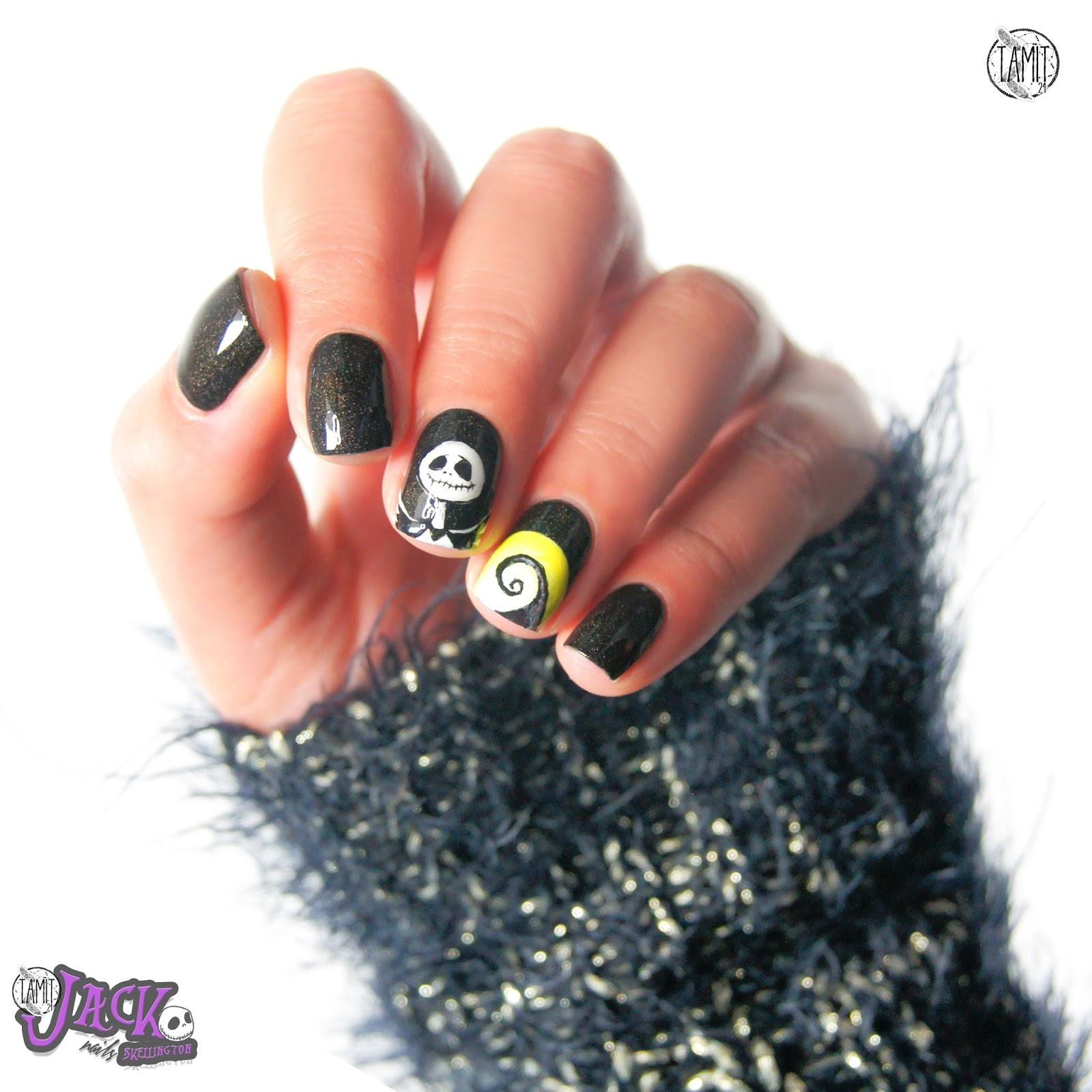 Fancy Jack Skeleton Nails Images - Nail Art Ideas - morihati.com
