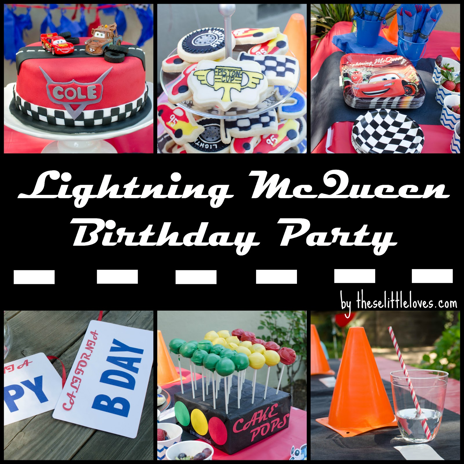 these little loves Lightning McQueen A Cars 3rd Birthday Party
