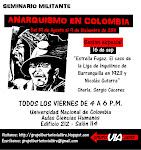 Sesion especial seminario militante. Charla: La Liga de Inquilinos de Barranquilla y Gutarra
