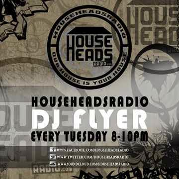DJ FLYER GROOVY SESSIONS LIVE ON HOUSE HEADS RADIO 18.11.2014 by DJ Flyer