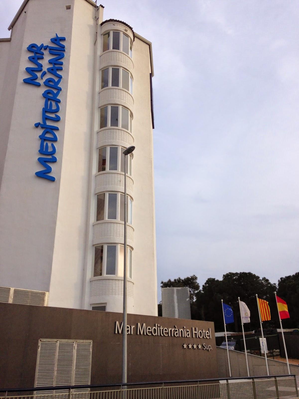 Fergus Hotel Mar Mediterrania Santa Susanna Spain exterior building