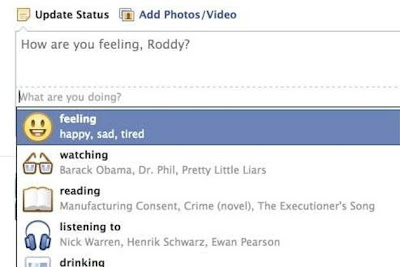 Facebook Extends Status Updates With New Emoticons