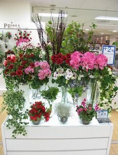 2013年春の花材の集積