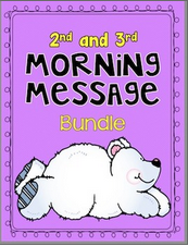 Morning Messages: 2nd and 3rd