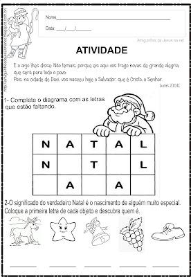 Natal - Atividade Bíblica