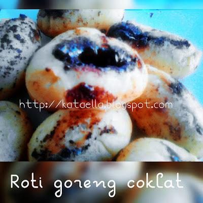 http://kataella.blogspot.com, emak-emak blogger, resep roti goreng coklat rumahan, resep roti goreng praktis, resep roti goreng coklat lumer, resep membuat camilan, Ella Nurhayati