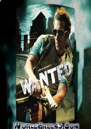 Poster Of Hindi Movie Wanted (2009) Free Download Full New Hindi Movie Watch Online At worldfree4u.com