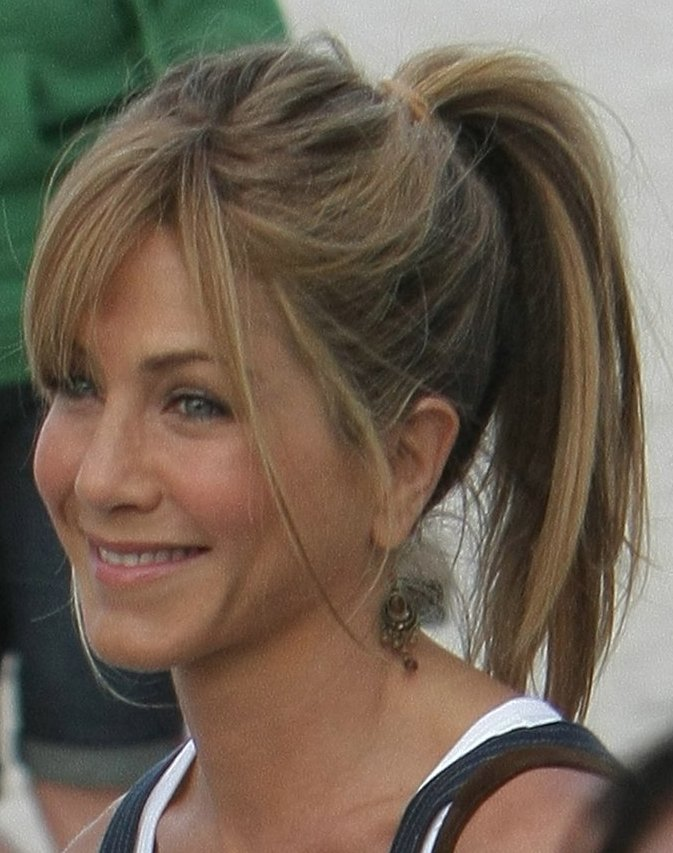 Celebrity High Ponytail Hairstyle Picture Prom Hairstyles