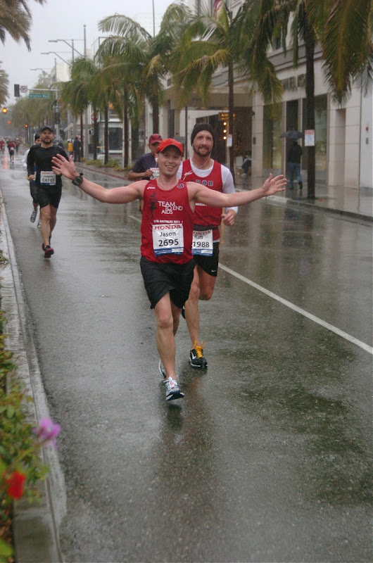 Wet Rodeo Drive LA Marathon 2011
