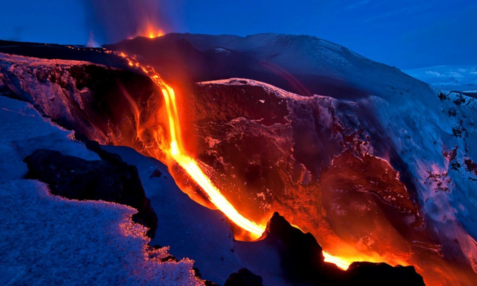 lava mountain volcano - photo #16