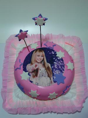 Torta de Cumpleaños Hanna Montana