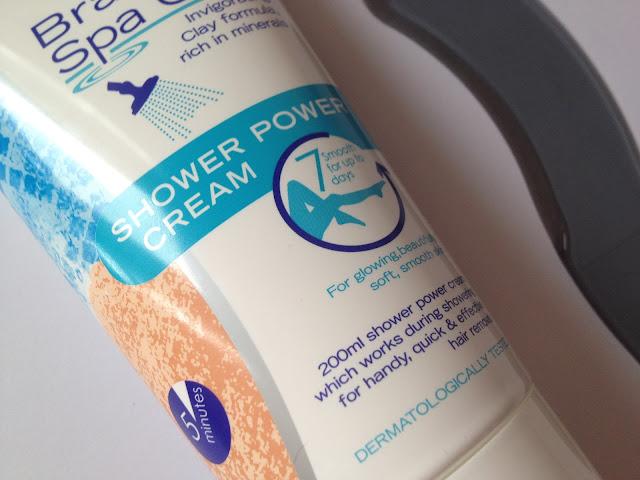 Nair Brazilian Spa Clay Shower Power Hair Removal Cream