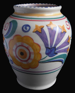 Poole Pottery Art Deco Vase 113 FN