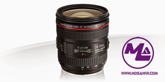 عدسة كانون: EF 24-70mm f/4L IS USM
