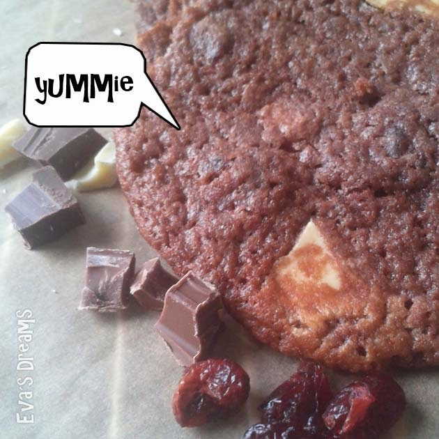 Rezept: Trible-Choclate Cookie