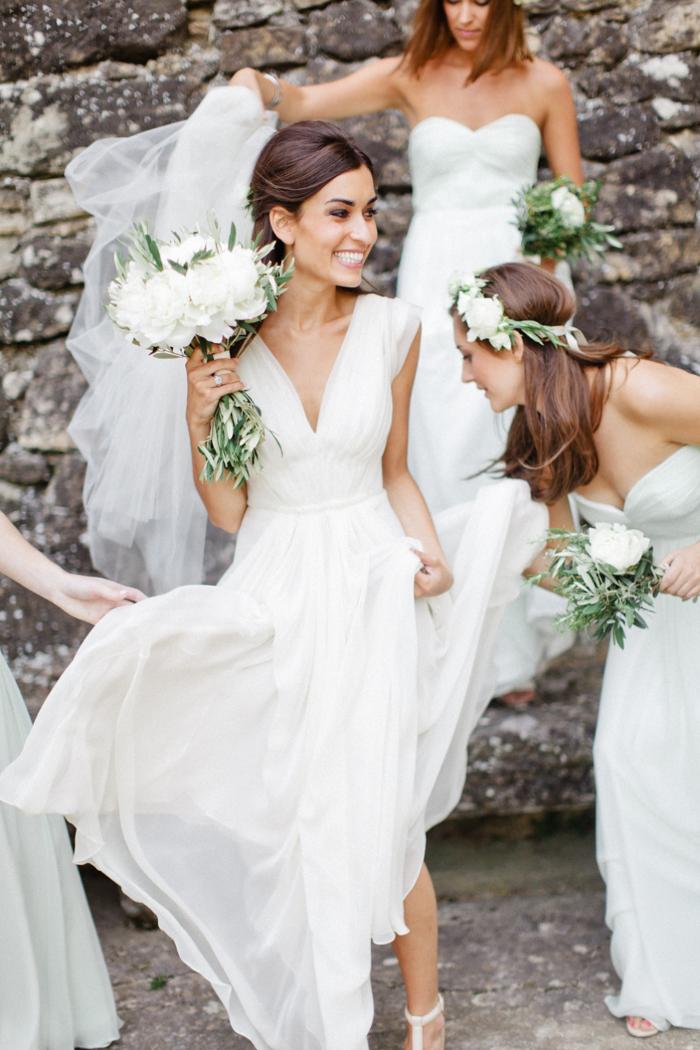 Wedding inspiration wedding in provence dust jacket for Alexander wang wedding dress