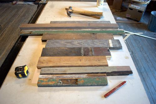 manualidades con madera reciclada