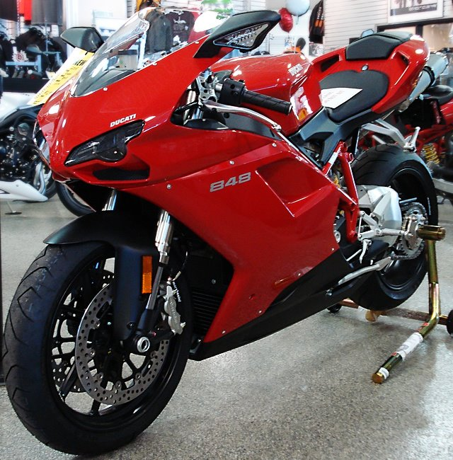 New Ducati Sports Bikes 2012