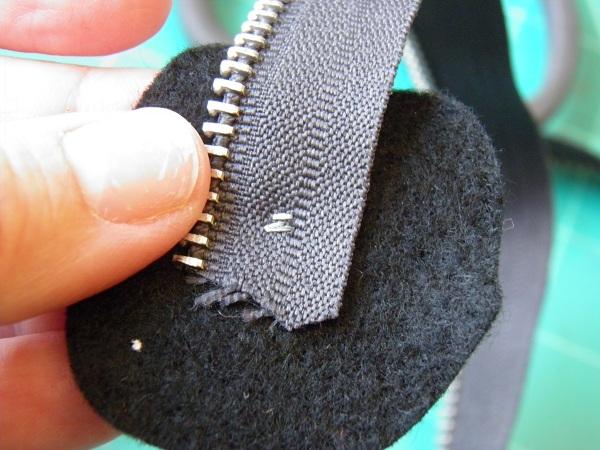 how to start a zipper