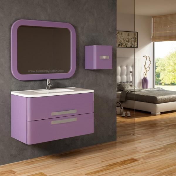 Muebles de ba o tu cocina y ba o for Azulejos bano morado