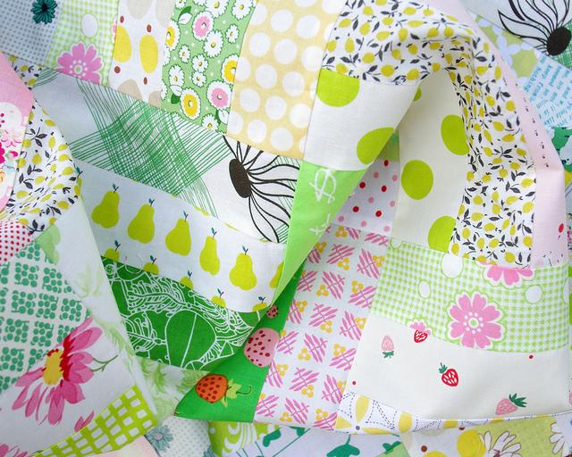 Pink Lemonade - A Quilt in Progress   Red Pepper Quilts 2015
