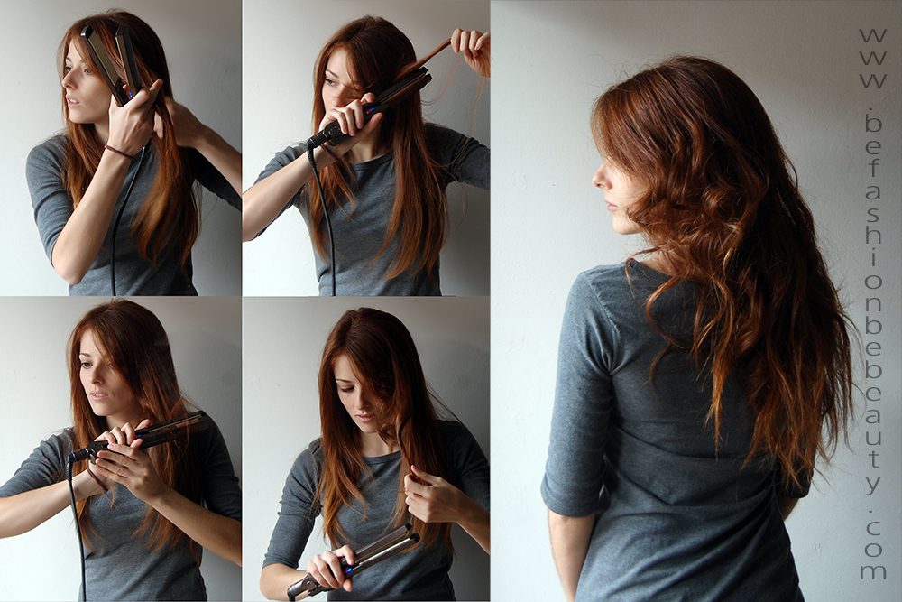Tutoriales De Peinados Con Plancha