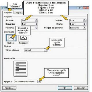 Como Configurar Página no Word 2007