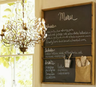 Decorating with chalkboards