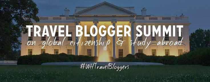 Member of the White House Travel Blogger Summit