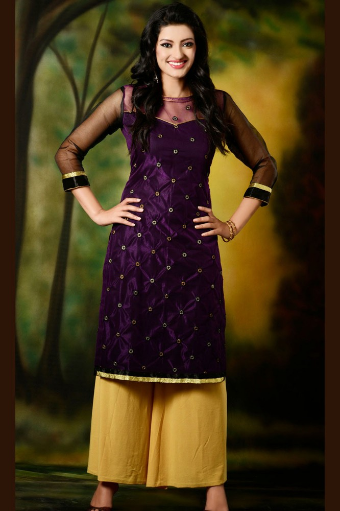 Party Wear Kurtis Online Shopping India - Plus Size Tops
