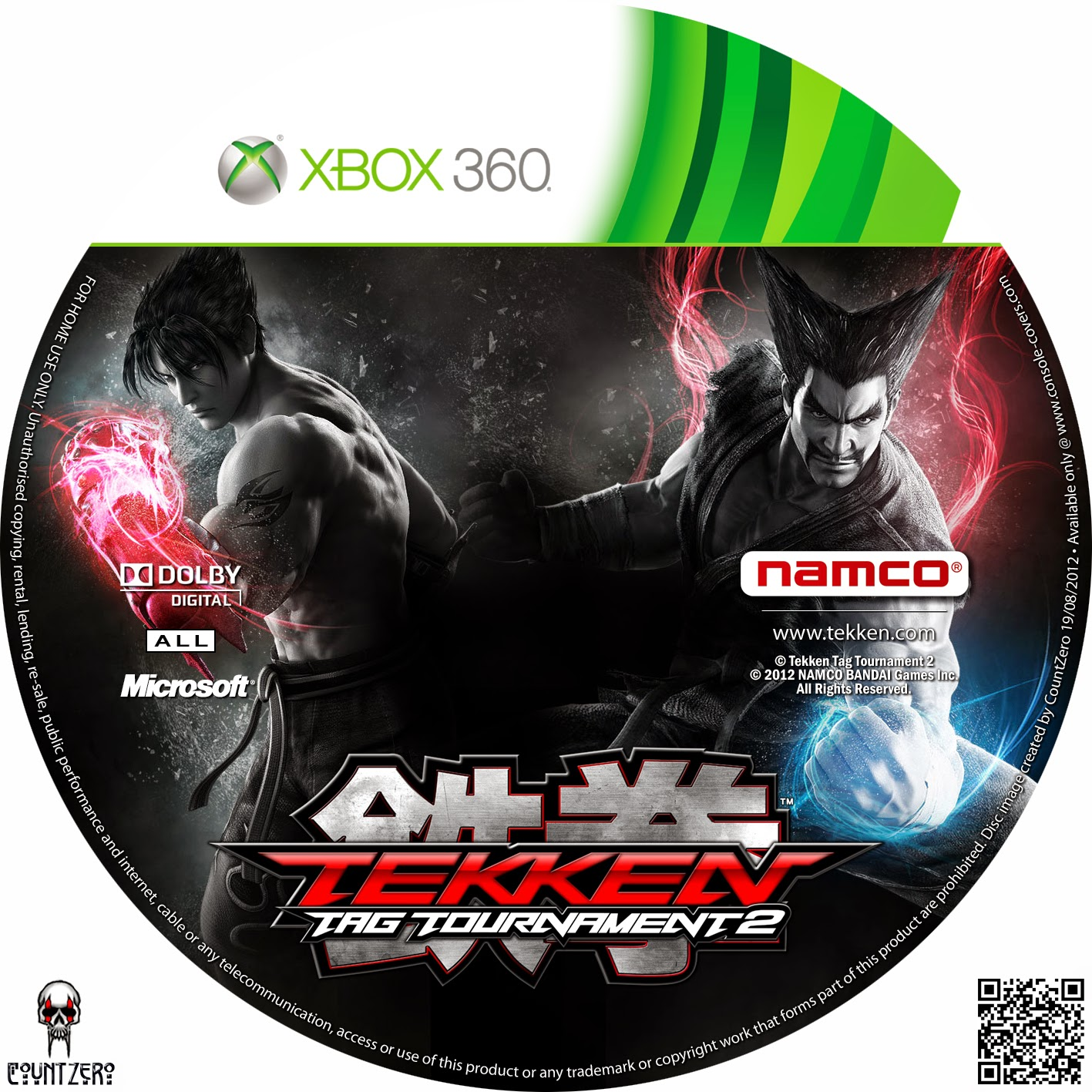 Capa Tekken Tag Tournament 2 XBOX 360