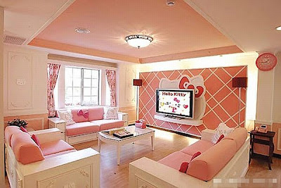 Hello Kitty home living room