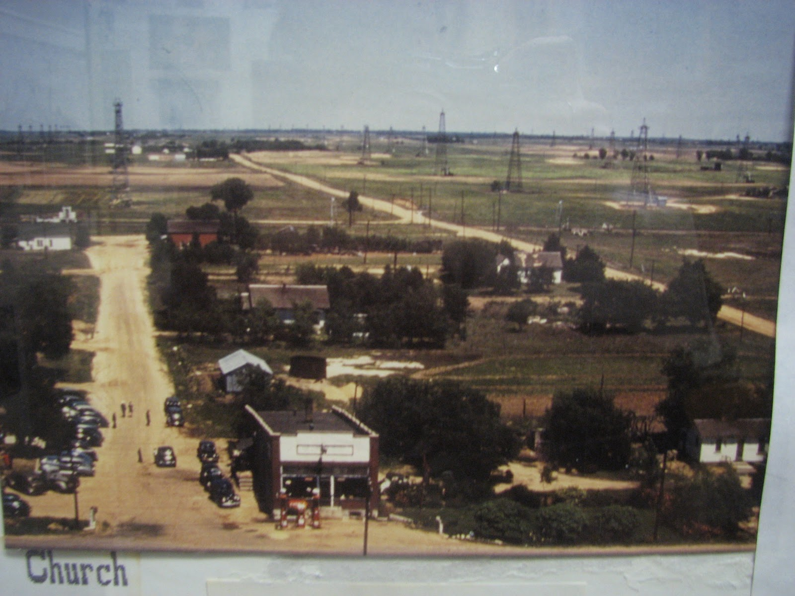 Kansas stafford county - Here S A Photo From Zenith S Heydays Notice All The Oil Wells