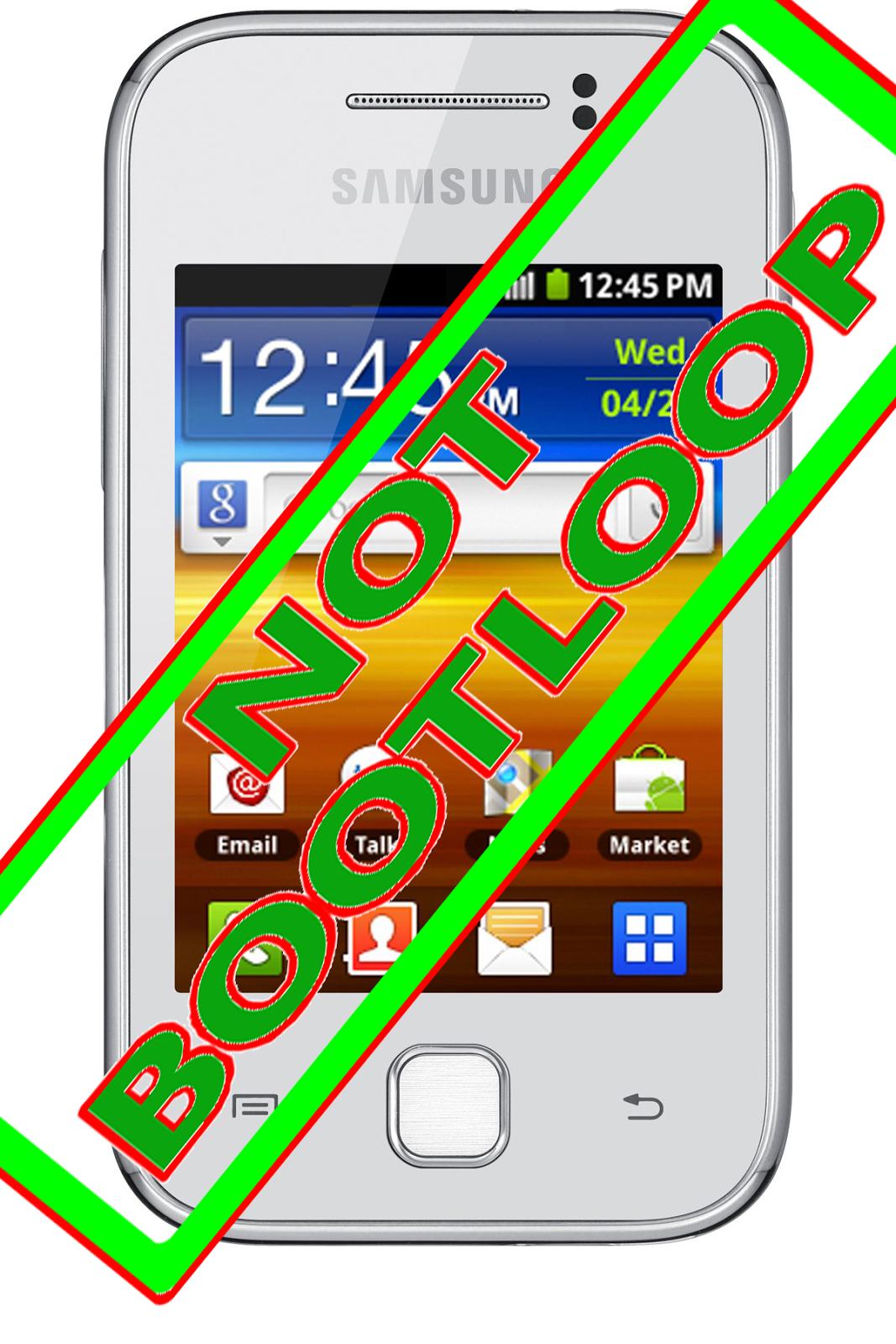 Cara Mengatasi Samsung Galaxy Young Bootloop