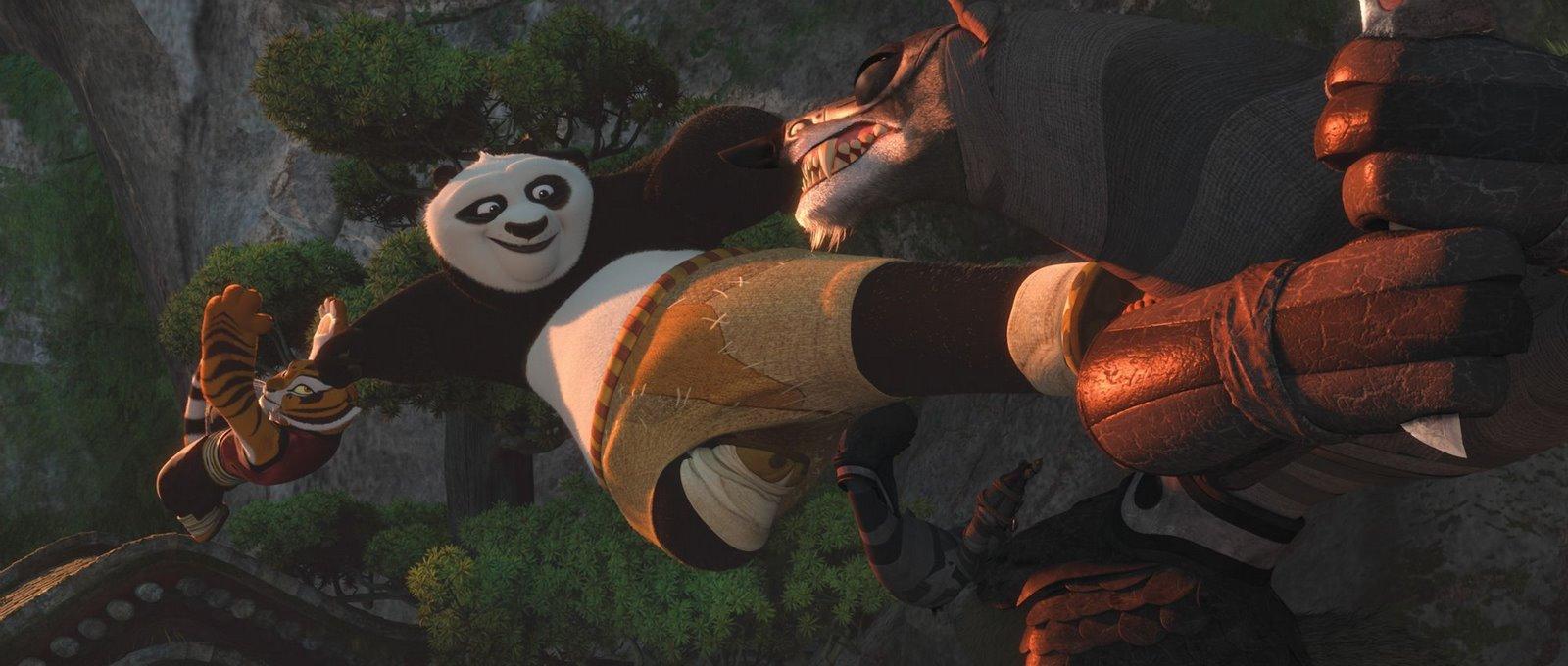 Desenhos do PANDA KUNG FU para colorir Luta com o  - imagens para colorir do kung fu panda