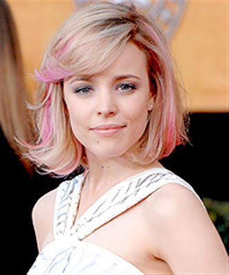Celebrity Hair streaking