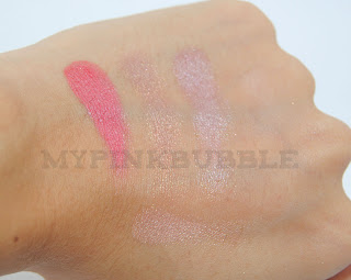ELF Paleta de maquillaje happy hour swatch