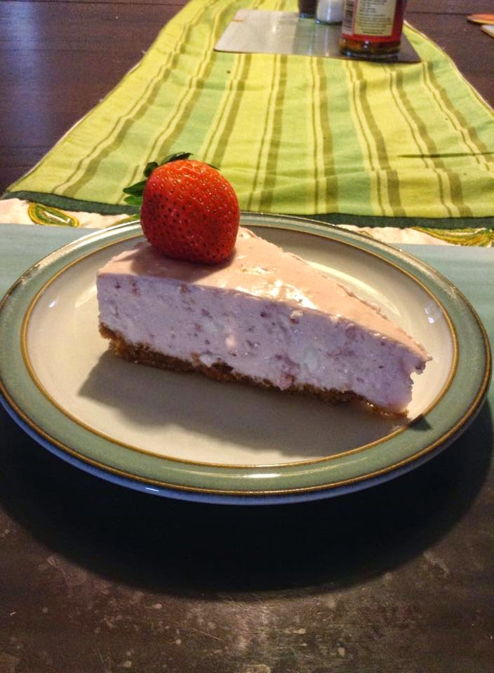 Kathryn's cheesecake - photo by Kathryn Frings - Deborah's Gems