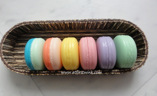 all it's skin macarons in one basket