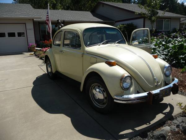 1971 VW Bug Classic For Sale