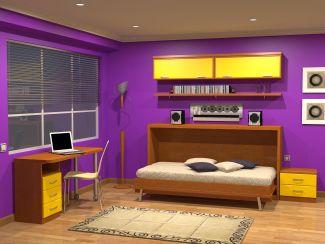 Muebles juveniles dormitorios infantiles y habitaciones juveniles en madrid muebles parchis - Habitaciones juveniles camas abatibles horizontales ...
