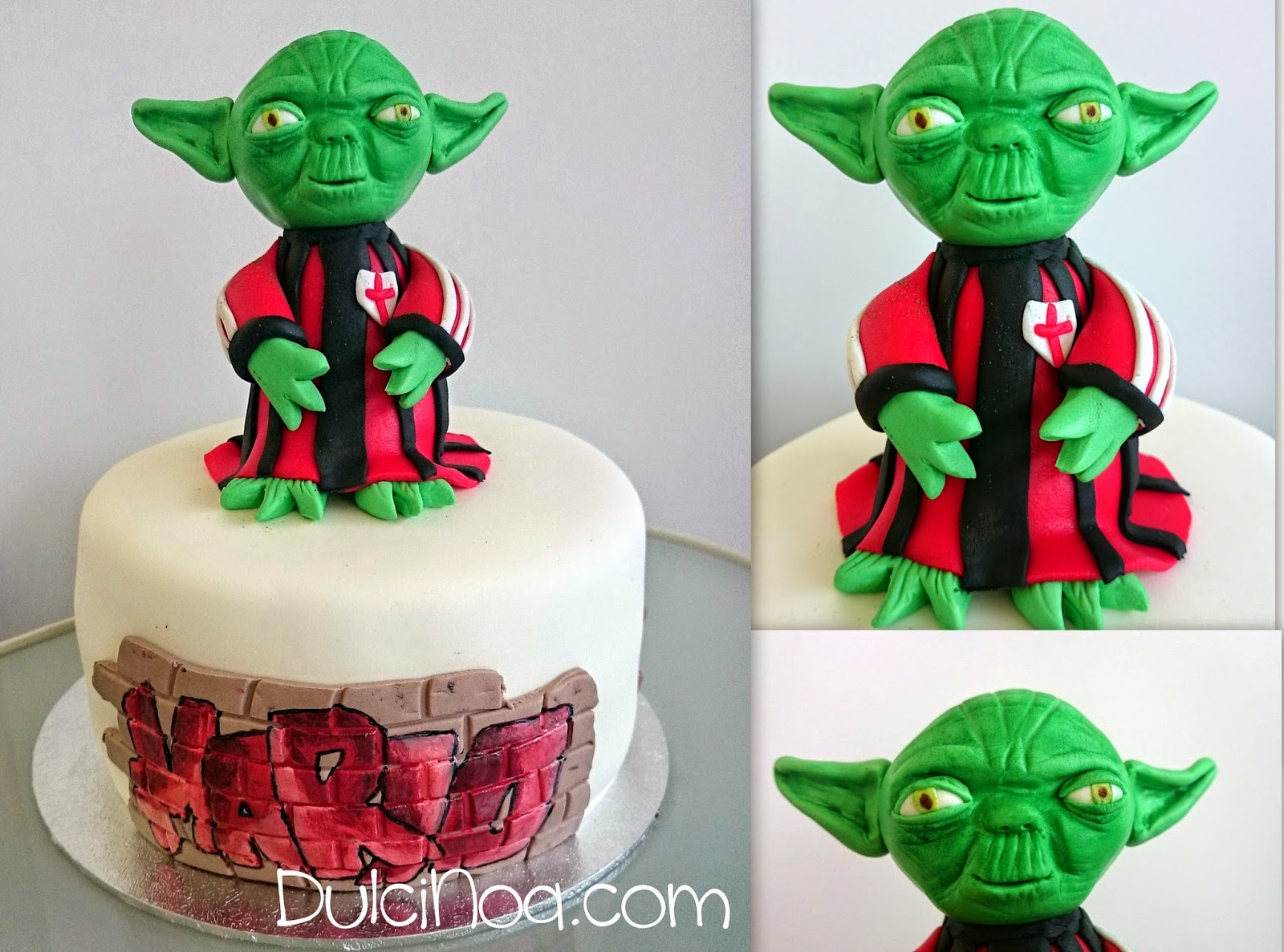 Tarta YODA. STAR WARS