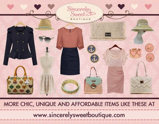 Sincerely Sweet Boutique - Online Fashion Store - Women's Clothes, Dresses, Bags, Jewelry and Accessories
