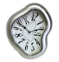 Distorted Clock image from Bobby Owsinski's Music 3.0 blog