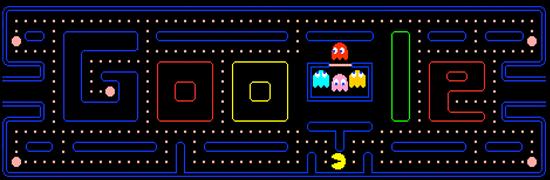Pac Man - Doodle Google Games